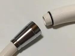 シャワーホースとシャワーヘッドの接続部からの水漏れ