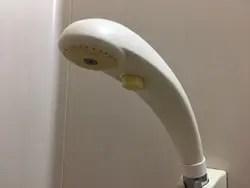 クリックシャワー付きの蛇口