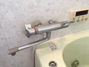 サーモスタットシャワー混合水栓