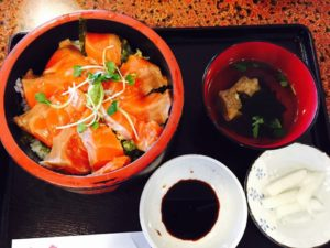 海鮮丼サーモン
