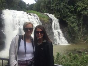 Kacy and I at Abby Falls