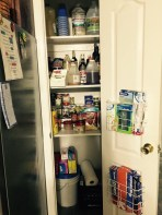 Pantry Two--canned goods and plastic/paper products