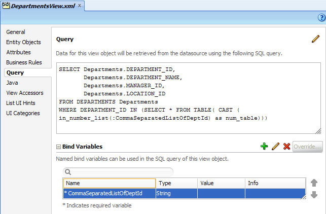 Using comma separated string as a bind variable for SQL query with IN clause (1/2)