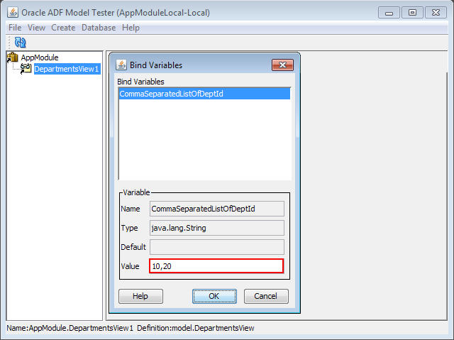 Using comma separated string as a bind variable for SQL query with IN clause (2/2)