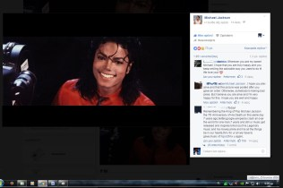 Michael Jackson page Liberian girl cover 25 June 2016 2