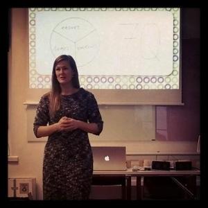 Camilla Eriksson på Retorikiska