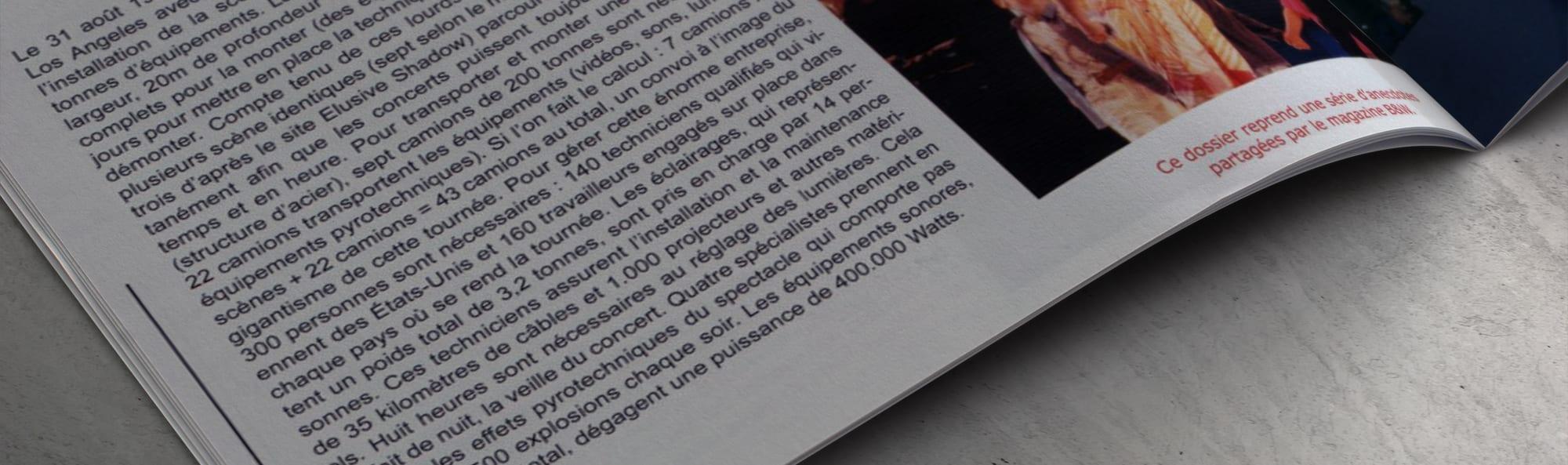 MJ Backstage Magazine