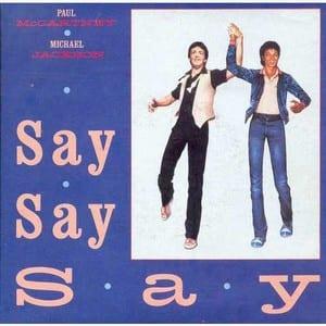 Say Say Say 7 inches
