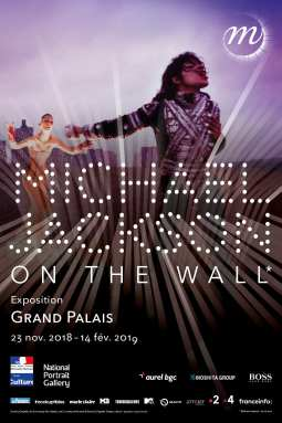 MICHAEL JACKSON ON THE WALL