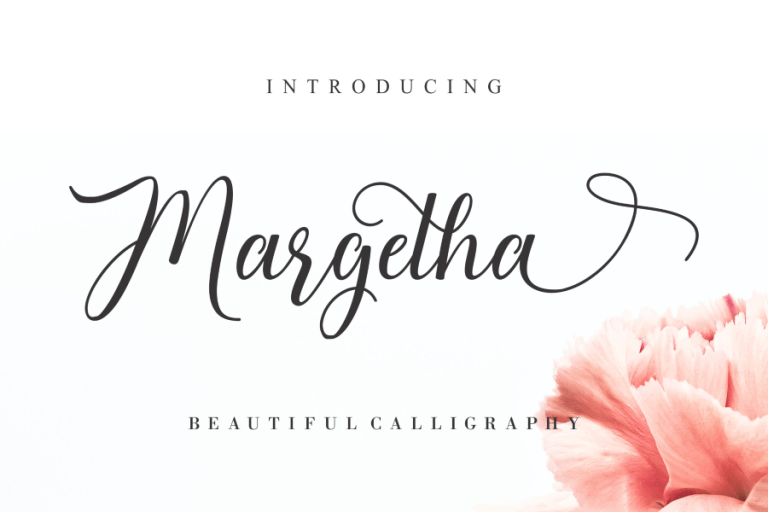 Preview image of Margetha Beautiful Calligraphy