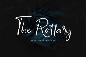 The Rottary - Handwritten Font