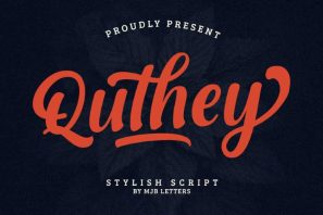 Quthey Casual Script