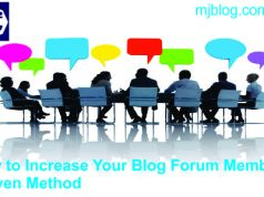 How To Increase Your Blog Forum Members: This Proven Method Will Help You Get More!