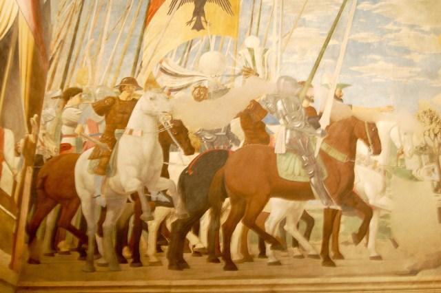 Fresco Horse Detail