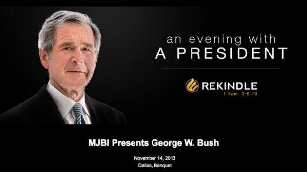 Bush event invitation