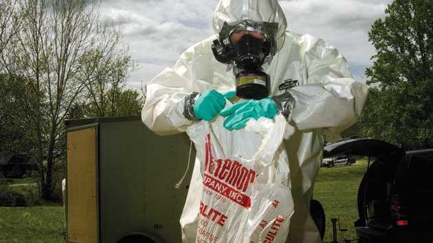 meth lab cleanup