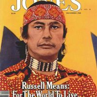 """I Am Not a Leader"": Russell Means' 1980 Mother Jones Cover Story"