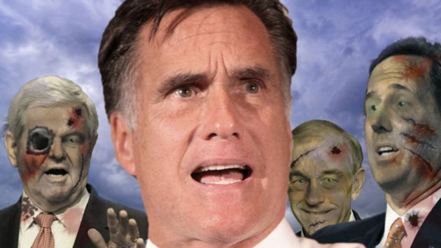 mitt romney zombies