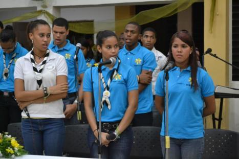 Los jóvenes de TESTIGOS de la Parroquia San Eduardo