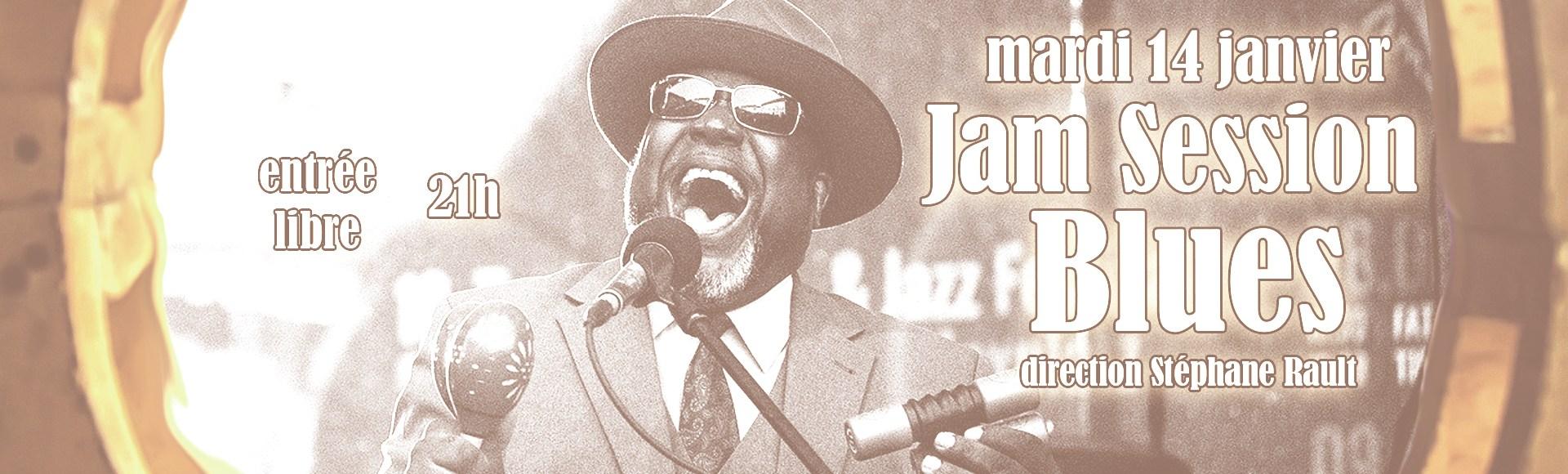 Jam Session – 14 janvier 2020 – Blues