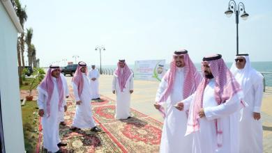 Photo of سمو الأمير محمد بن عبدالعزيز يدشن الواجهة البحرية بالكورنيش الجنوبي