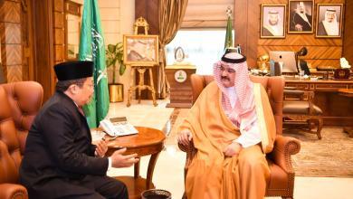 Photo of الأمير مشعل بن ماجد يستقبل القنصل العام الإندونيسي بجدة