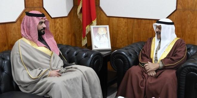 رئيس مجلس الشورى يستقبل سفير المملكة العربية السعودية:::
