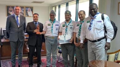 Photo of نائب سفير المملكة في ماليزيا يستقبل وفداً من جمعية الكشافة