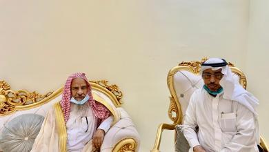 """Photo of الشيخ""""العامري""""يزور """"الجبيلي""""للاطمئنان على صحته .."""