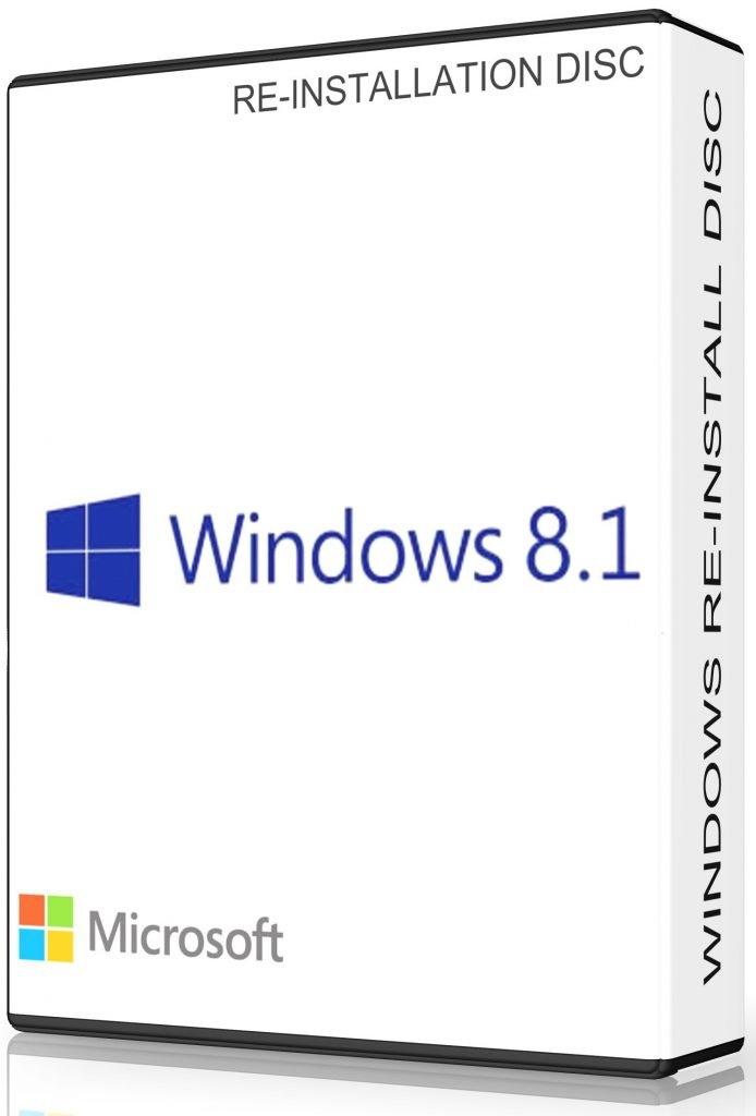Windows 8.1 & Professional 32 Bit Repair, Restore Or