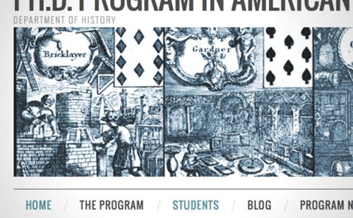 American Civilization Program Website