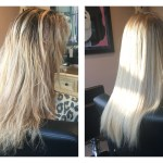 Sherman oaks before and after keratin treatment