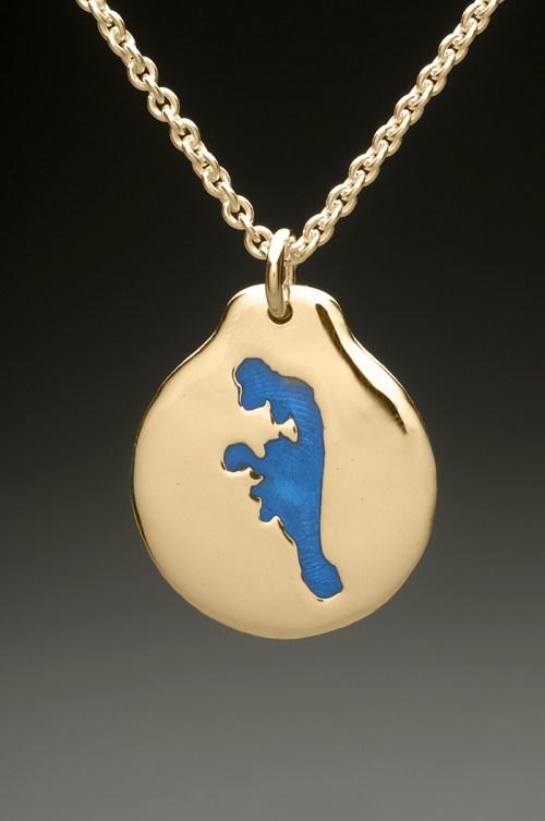 mj harrington jewelers nh baboosic lake amherst custom necklace pendant gold