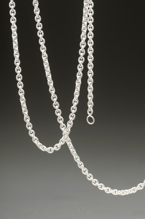 mj harrington jewelers nh curb link chain necklace sterling silver