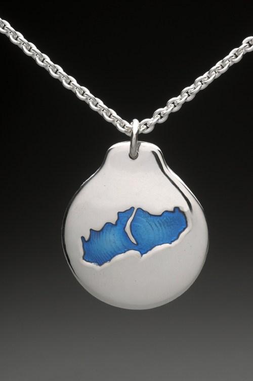little lake sunapee pendant silver