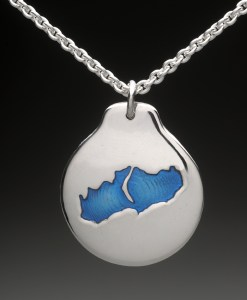 little lake sunapee pendant silver
