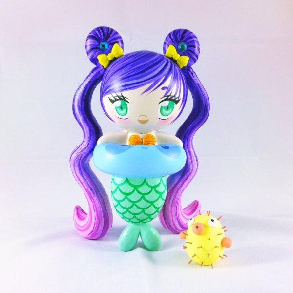 Tokidoki Mermaid Drawings