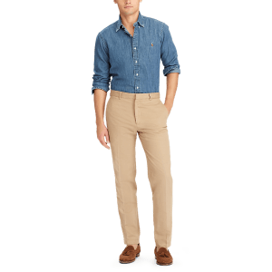 Long Sleeve Denim Sport Shirt – Classic Fit