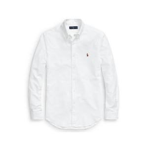 Long Sleeve Stretch Oxford Sport Shirt – Slim Fit