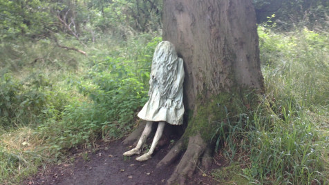 My Friday Image and Poem : The Weeping Girls – Laura Ford