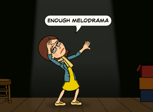 bitstrips melodrama