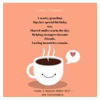 Colleen's Weekly #Tanka #Poetry Challenge # 23 – HELP & SMILE