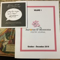 Author Spotlight - Cendrine Marrouat & David Ellis #Poets #Submissions #Auroras & Blossoms Poetry Journal