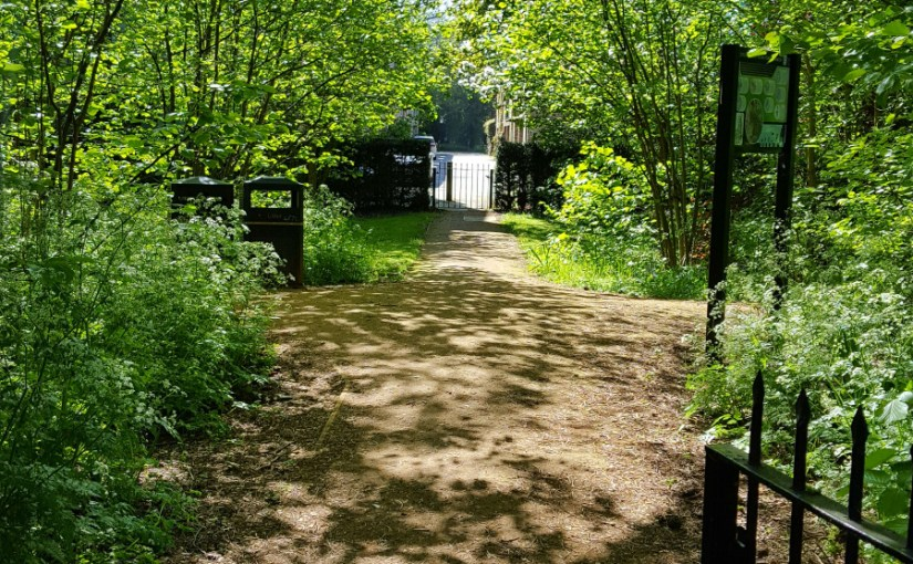 A Magical Gate in Cambridge #SistersofTheFey #SpiritualSisters #Nature #MagicalConnections