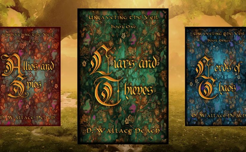 Launch of Liars and Thieves by D. Wallace Peach – #Fantasy #Release #Book #Launch