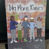 Book Review - No More Knives by Christina Gabbitas #childreninneed #childreninread #education #children #knife #crime #drugs