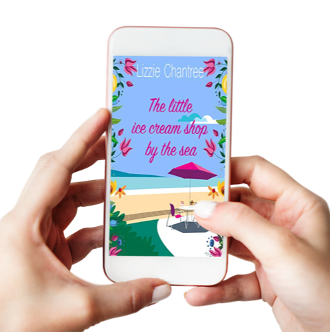 The Little Ice Cream Shop By The Sea –  Lizzie Chantree – #New #Release #Romance
