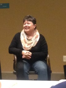 Speaking at Shelbyville Library
