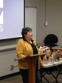 Speaking at Vol State Community College