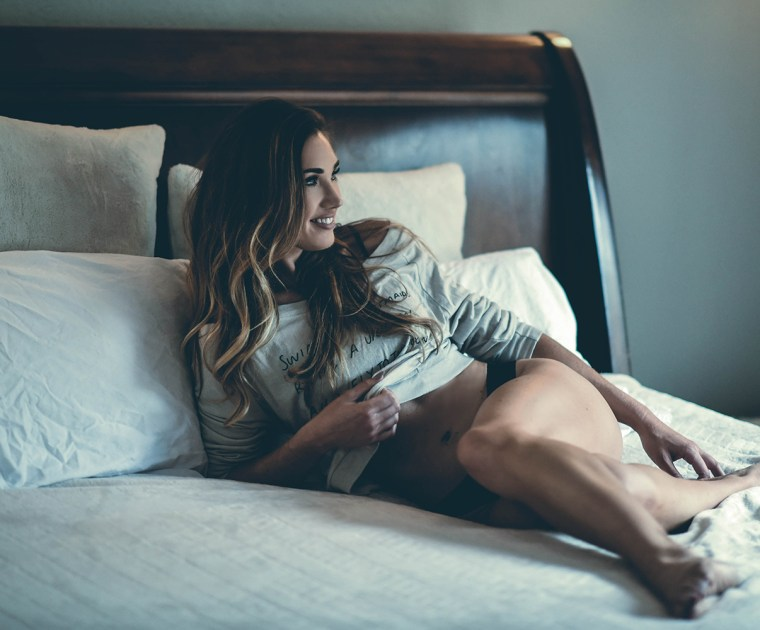 Boudoir photography with a natural modern vibe